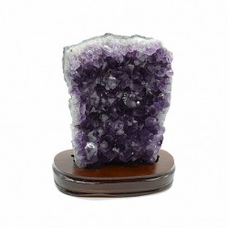 Amethyst druse 2610gr weight, size 175 * 105 * 200mm. (R)