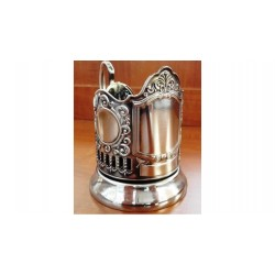 "Nickel-plated Cup holder ""Engraving"" niello"
