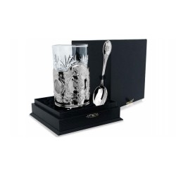 """Silver Cup Holder """"Arms"""" silver 925"""