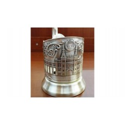 "Silver-plated Cup Holder ""GUM"" niello"
