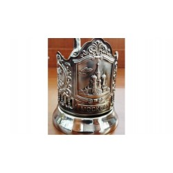 "Nickel-plated Cup Holder ""Basil"" niello"