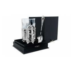 """Silver Cup Holder """"Fatherland"""""""