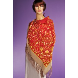 10986 Pavlovo Posad Shawl Song wind