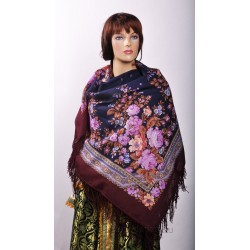 10978 Pavlovo Posad Shawl Flavor of Love
