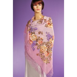 10977 Pavlovo Posad Shawl Flavor of Love