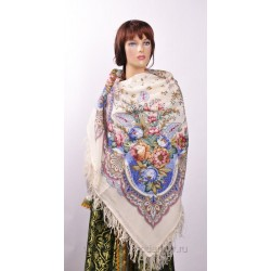 10975 Pavlovo Posad Shawl Flavor of Love