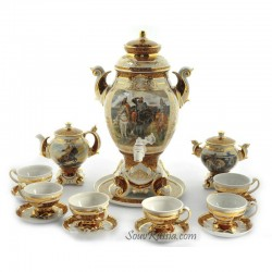 "Samovar ""Heroes"" 5 liters set, art. 25737"