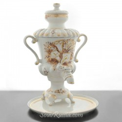 "Samovar electric ""Calla lilies"" in the set, art. 0012663"