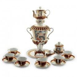 "Samovar ""Merchant's Wife"" 3liters set, art. 25734"