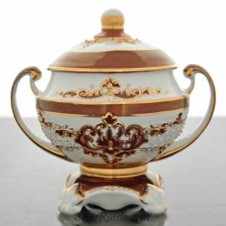 "Electric samovar set ""Coat of Arms of the Russian Federation"" (Bordeaux), art. 0012665"