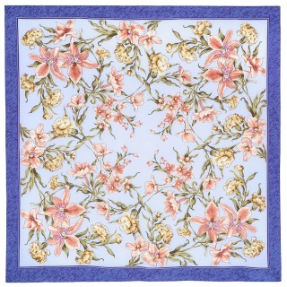 "Shawl ""Scent of spring"""