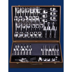 Silverware set for 6 persons №10 (86 items)
