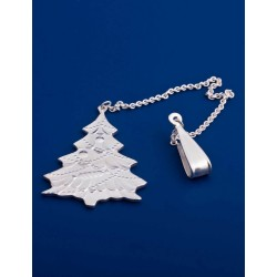 "Silver water freshener  №21  ""Christmas tree"""