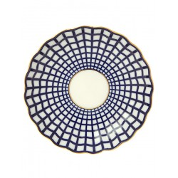 "Bank for crackers, shape ""Tulip"" pattern ""Cobalt cell"", the Imperial Porcelain Factory"