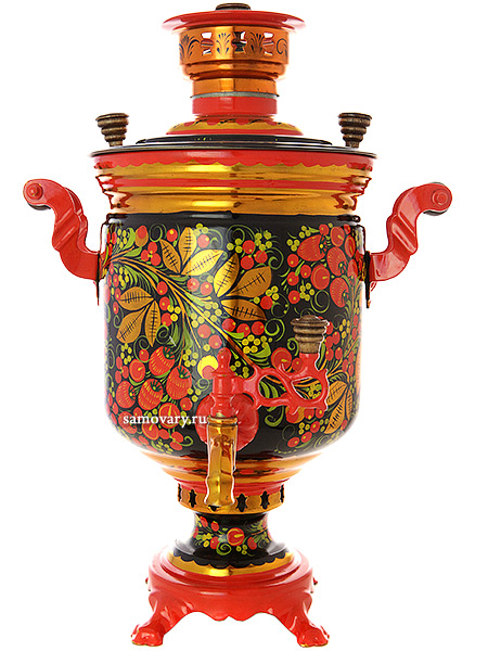 Painted samovars