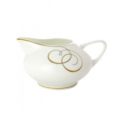 "Creamer, shape ""Dome"", pattern ""Golden curls"" Imperial Porcelain Factory"