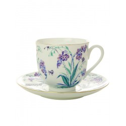 "Coffee cup with saucer, shape ""Lily"" pattern ""Tinkerbell"" Imperial Porcelain Factory"
