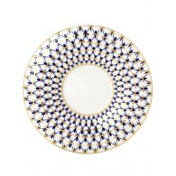 "Service for coffee, shape ""Julia"", pattern ""Cobalt net"" 6/15, Imperial Porcelain Factory"