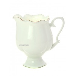 "Creamer, shape ""Natasha"", pattern ""Gold Ribbon"" Imperial Porcelain Factory"