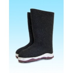 Kukmor Valenki with sole black/gray (1078)