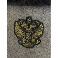 "Handmade valenki ""Coat of arms"" with cuffs, collection ""Russian history"" (1270)"