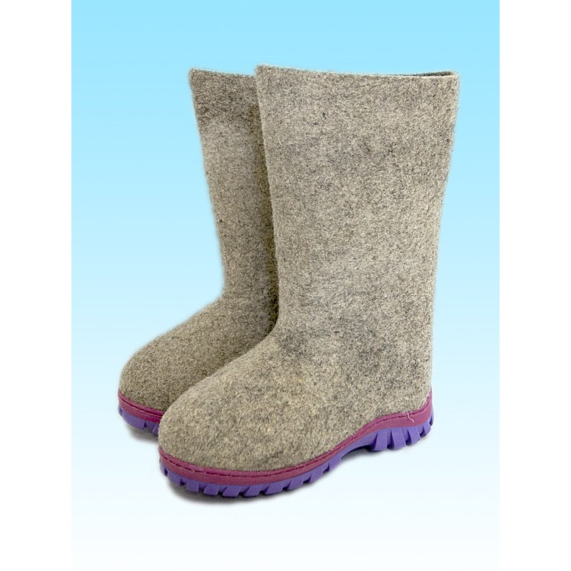 Valenki Russian Traditional Handmade Felt Home Boots 100% Wool Clothing, Shoes & Accessories Women's Shoes Best Souvenir