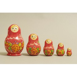 Nesting Doll 5 pcs. hand-painted