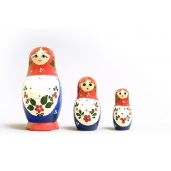 "Nesting Doll 3 pcs. ""Pattern"" C-4 (110)"