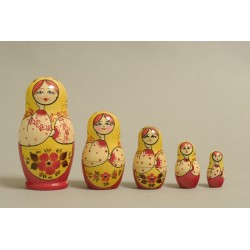 "Nesting Doll 5 pcs. ""Pattern"" C-6 (118)"