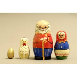 "Nesting Doll 4 pcs. ""Pattern"" C-5 (150)"