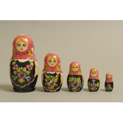 "Nesting Doll 5 pcs. ""Pattern"" C-6 (194)"