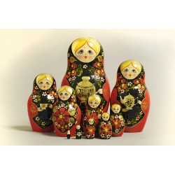 "Nesting Doll 10 pcs. ""Pattern"" C-11 (315)"