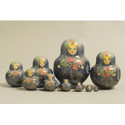 "Nesting Doll 10 pcs. ""Pattern"" C-11 (496 small)"