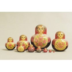 "Nesting Doll 10 pcs. ""Pattern"" C-11 (503 small)"