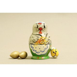 "Nesting Doll 4 pcs. ""Pattern"" C-5 (548)"