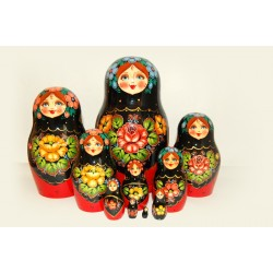 "Nesting Doll 10 pcs. ""Pattern"" C-11 (55)"