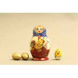 "Nesting Doll 4 pcs. ""Pattern"" C-5 (574)"