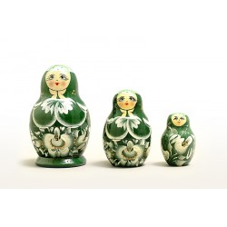 "Nesting Doll 3 pcs. ""Pattern"" C-4 (606)"
