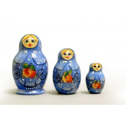 "Nesting Doll 3 pcs. ""Pattern"" C-4 (631)"