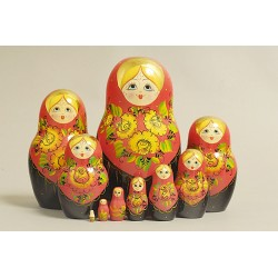"Nesting Doll 10 pcs. ""Pattern"" C-11 (95)"