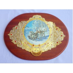 "Decorative Plaque ""Troika"""