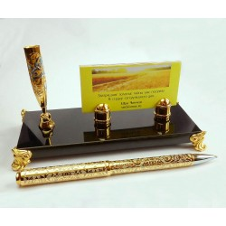 Business Cards Holder on Dolerite