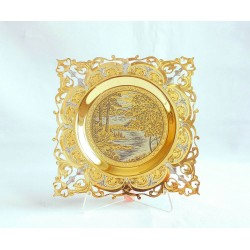 "Decorative Plate ""Nature"" №2"